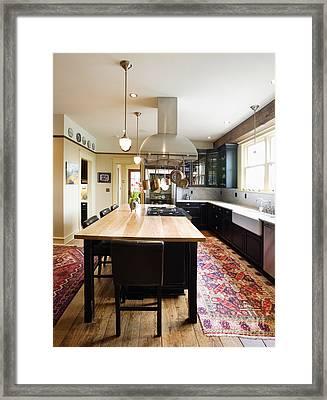 Eat-in Kitchen Framed Print