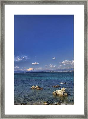 Framed Print featuring the photograph Ebb by Tad Kanazaki