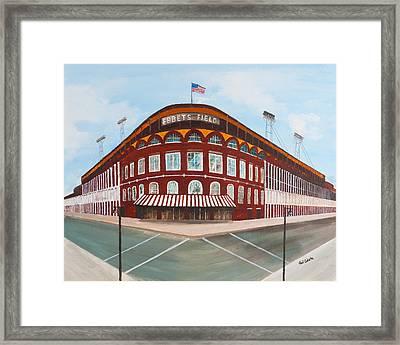 Ebbets Field Framed Print by Paul Cubeta
