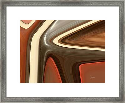 Ebony In The Light Framed Print