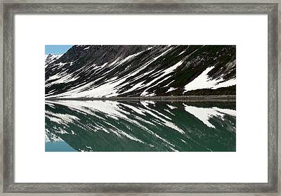 Echo In Color Framed Print