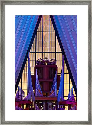 Echo Of The Pipes Framed Print