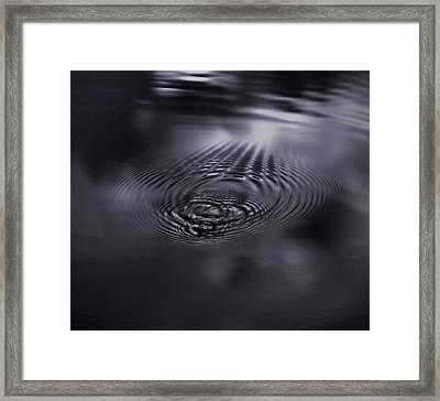 Echoes Framed Print by Akos Kozari