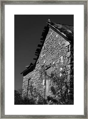 Framed Print featuring the photograph Echoes Of Another Time by Vicki Pelham