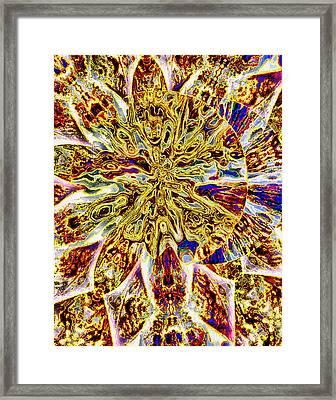 Eclipse 03 Framed Print by Ron  DeMattio