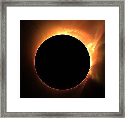 Eclipse Framed Print by Kim French