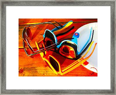 Eclipse Party Framed Print by Kathryn Donatelli