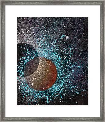 Eclipse Framed Print by Reina Cottier