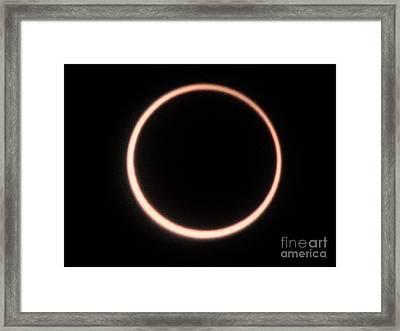 Eclipse3 2012 Framed Print