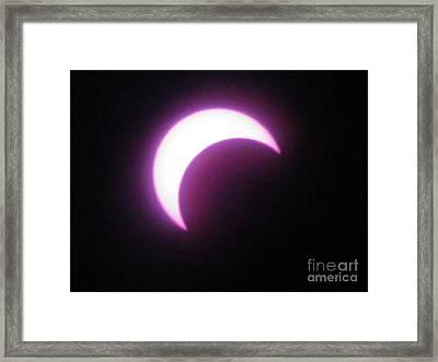 Eclipse9 2012 Framed Print