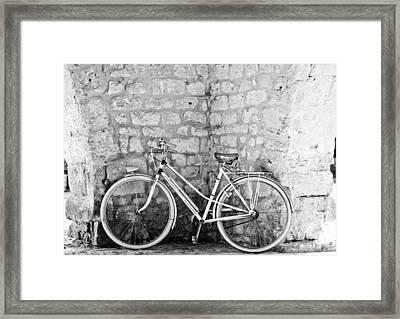 Eco Transport Framed Print