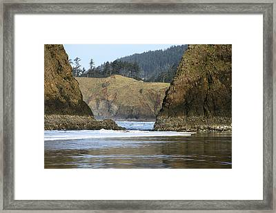Ecola From Chapman Pt. Framed Print