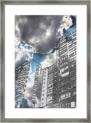 Ecological Architecture Framed Print