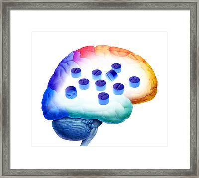 Ecstasy Use, Artwork Framed Print