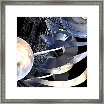 Ecstatic Archaeology Framed Print by Michele Caporaso