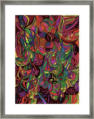 Ecstatic Framed Print by Janice Lee
