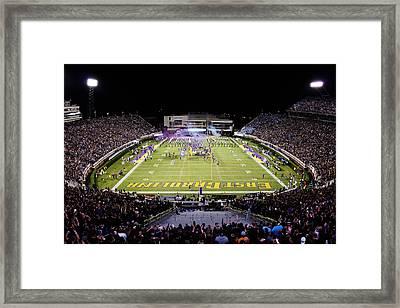 Ecu  Dowdy-ficklen Stadium  Framed Print