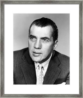 Ed Sullivan 1901-1974, American Writer Framed Print by Everett