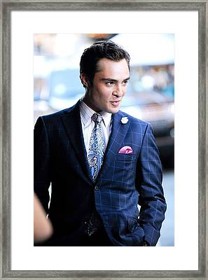 Ed Westwick, Films A Scene Framed Print by Everett