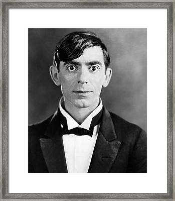 Eddie Cantor, 1927 Framed Print by Everett