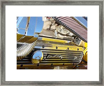 Edelbrock  Framed Print by Tammy Cantrell