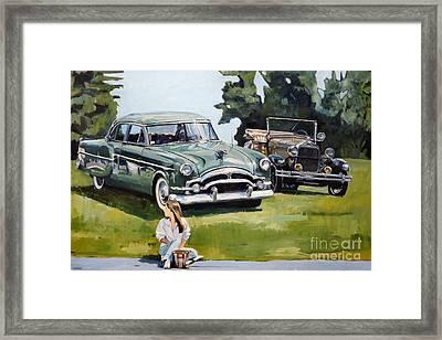 Eden Framed Print by Deb Putnam