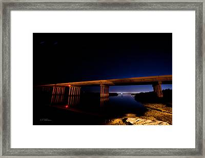 Edge Of Morning Framed Print by Christopher Holmes