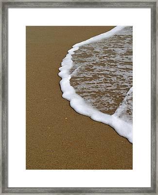 Edge Of The Ocean Framed Print by Jeremy Allen