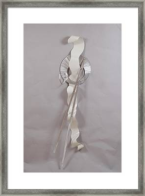 Edge Of Unmentionable Framed Print by Mac Worthington