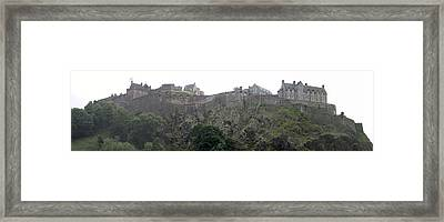 Framed Print featuring the photograph Edinburgh Castle by David Grant