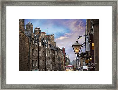 Edinburgh Mile Framed Print