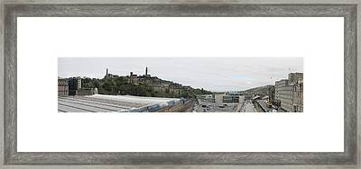 Edinburgh Station Panorama Framed Print by Ian Kowalski