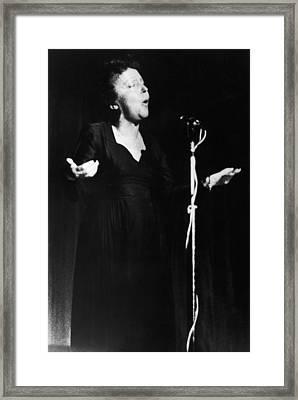 Edith Piaf 1915-1962 Framed Print