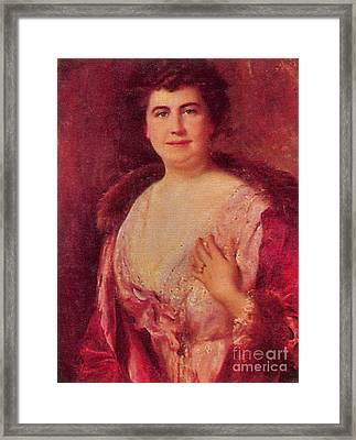 Edith Wilson Framed Print