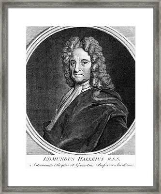 Edmond Halley, English Polymath Framed Print