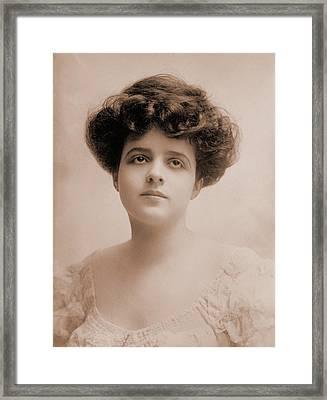 Edna Goodrich 1883-1972, Popular Framed Print by Everett