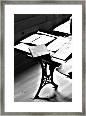 Education Station Framed Print by Empty Wall