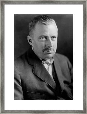Edward Beale Mclean 1889-1941 Framed Print