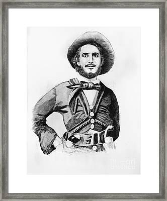 Edward Fitzgerald Beale Framed Print by Granger