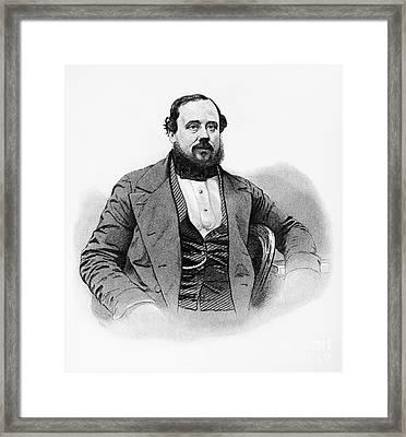 Edward Hammond Hargraves Framed Print