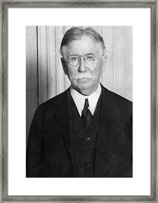 Edward L. Doheny, Oil Magnate Framed Print by Everett