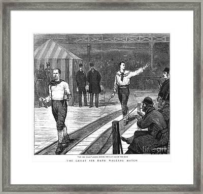 Edward Payson Weston Framed Print by Granger