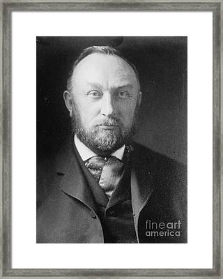 Edward Pickering, American Astronomer & Framed Print by Science Source