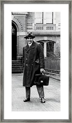 Edward Teller 1908-2003, As A Research Framed Print by Everett