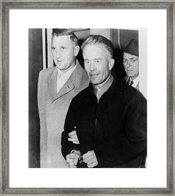 Edward Theodore Ed Gein 1906-1984 Framed Print by Everett