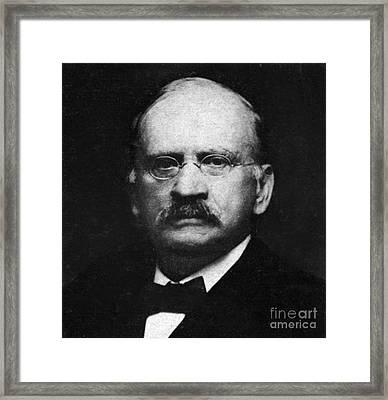Edward W. Morley 1907 Nobel Prize Framed Print