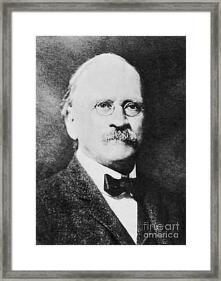 Edward Williams Morley Framed Print