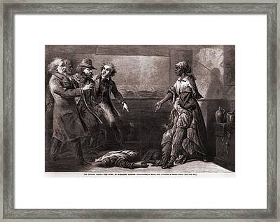 Effects Of The Fugitive-slave-law. The Framed Print by Everett