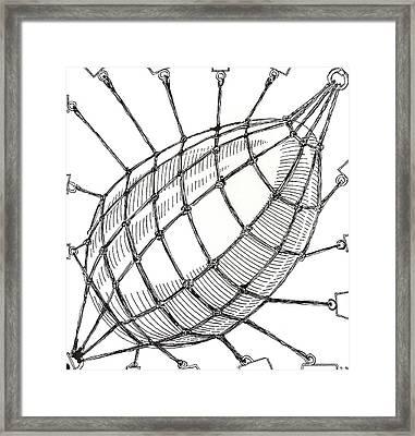 Egg Drawing 049618 Framed Print