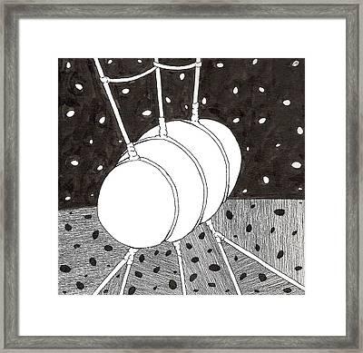 Egg Drawing 059836 Framed Print